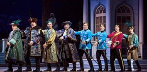 """The Merry Widow:: """"Who Can Tell What the Hell Women Are"""" al MET, Foto Sara Krulwich/The New York Times"""