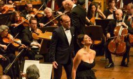 Michael Fabiano i Joyce El-Khoury a Manon a l aRichard Tucker Gala 2014