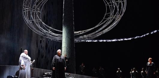 Peter Seiffert (Tristan) a la Staatsoper de Viena. Fotografia Wiener Staatsoper/Michael Pöhn