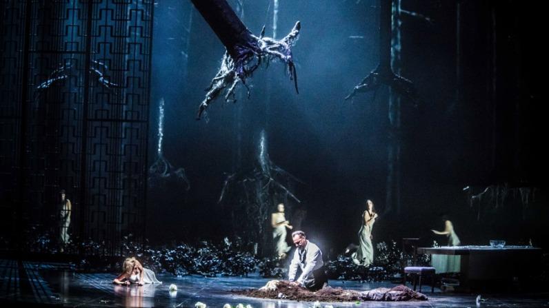 El Castell de Barbablava al MET producció de Mariusz Trelinski Fotografia Marty Sohl/Metropolitan Opera