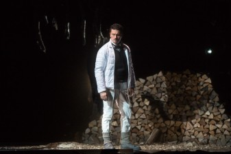 Piotr Beczala (Vaudemont) a Iolanta Marty Sohl/Metropolitan Opera