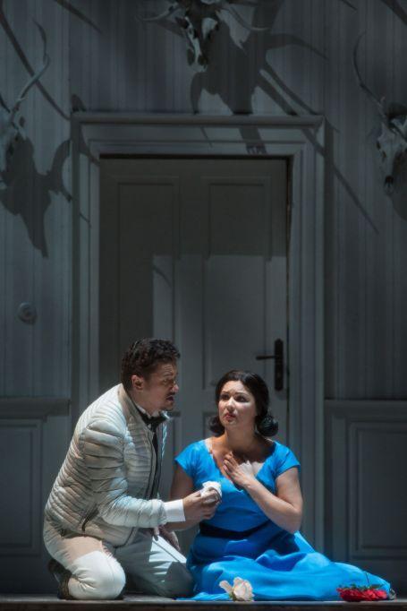 Piotr Beczala i Anna Netrebko a iolanta al MET. Producció de Marius Trelinski Fotografia Marty Sohl/Metropolitan Opera