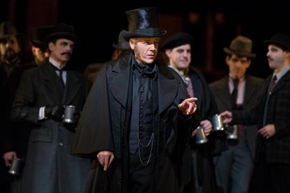 Thomas Hampson a Les contes d'Hoffmann al MET Foto: Marty Sohl / Met Opera