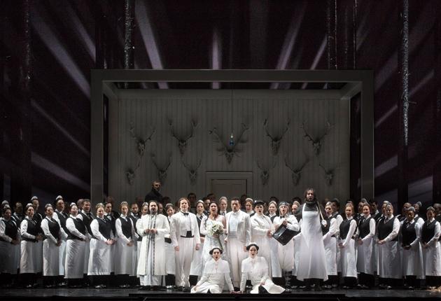 Iolanta al MET producció de Mariusz Trelinski Photo: Marty Sohl/Metropolitan Opera)