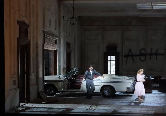 Pavol Breslik i Diana Damrau a la Lucia di Lammermoor a Munich © Opéra de Munich / Wilfried Hösl