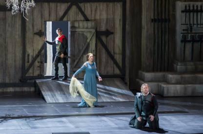 Francisco Vas, Ekaterina Gubanova i Gregory Kunde a Norma al Gran Teatre del Liceu (Foto: © A. Bofill)