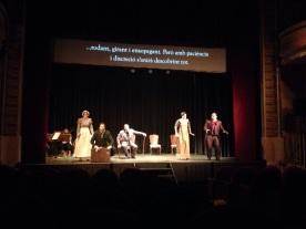 L'occasione fa il ladro al Teatre de Sarrià. Fotografia Amics de 'òpera de sarrià