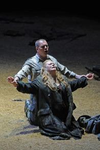 Stefan Vinke (Siegfried) i Catherine Foster /Brünnhilde) al Siegfried del Liceu 2015 Foto: ® A Bofill