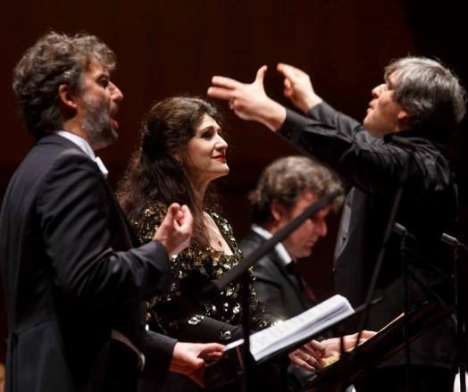 Jonas Kaufmann, Anja Harteros, Antonio Pappano i Ludovic Tezier, Roma 27/02/2015