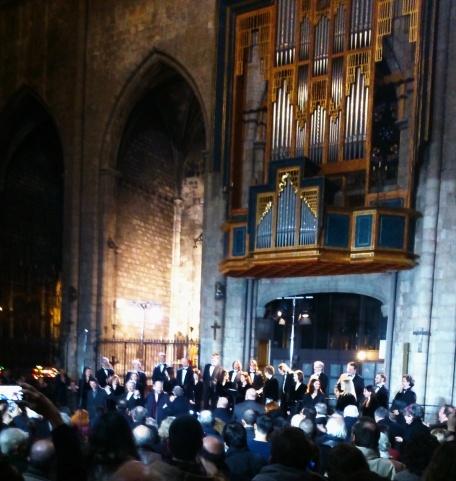 Latvian Radio Choir a l'església del Pi 06/03/2015