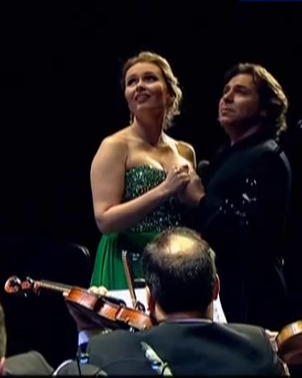 Ekaterina Scerbacenko i Roberto Alagna