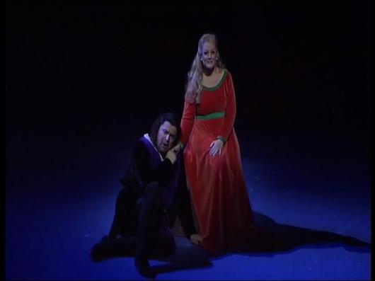 Peter Seiffert (Tristan) DEborah Voigt (Isolde) Gran Teatre del Liceu 2010