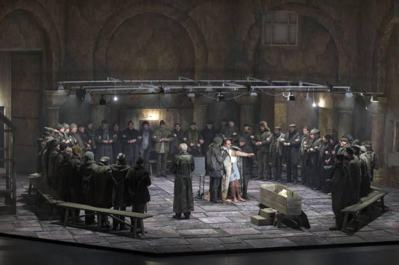 Parsifal, producció de Dmitri Tcherniakov Fotografia Ruth Walz