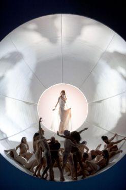 Tannhäuser, producció de Sasha Waltz, fotografia de Bernd Uhlig