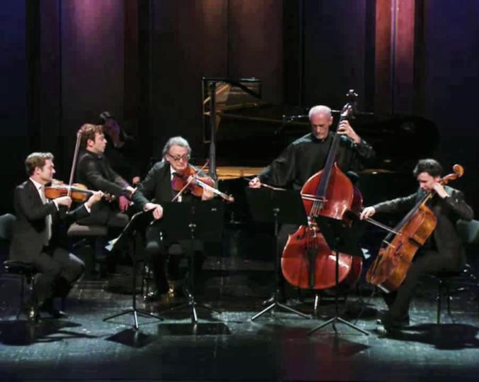 Renaud Capucon, violí - Gérard Caussé, viola -  Edgar Moreau, violoncel -   Alois Posch, contrabaix i  David Kadouch, piano.
