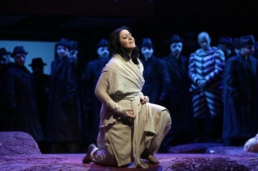Maria Agresta Liù a la Scala, producció de Nikolaus Lehnhoff