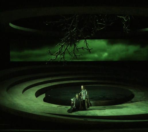 Otello a Les Arts 2013. acte 2on Producció de Davide Livermore