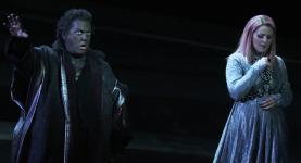 Gregory Kunde i Maria Agresta a l'acte 3er de Otello. Les Arts 2013