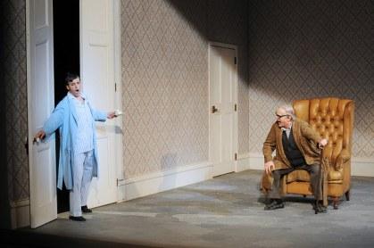Juan Francisco gatell (Ernesto) i Lorenzo Regazzo (Don Pasquale) Liceu 2015 Fotografia ® A Bofill