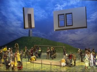 Le Roi Arthus, producció de Graham Vick per a la ONP, Fotografia ©Andrea Messana/OnP