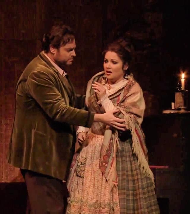 Joseph Calleja (Riodolfo) i Anna Netrebko (Mimi) a La Bohème a la ROH 10/06/2015