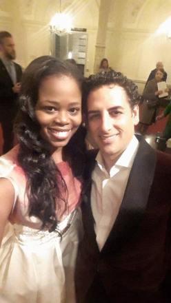 Pretty Yende i Juan Diego Flórez. Foto gentilesa del Facebook de la Sra Yende