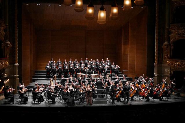 Tristan und Isolde, Orquestra del Teatre Mariinski, Cor dle Gran Teatre del Liceu i Valery gergiev. Fotografia ® A Bofill