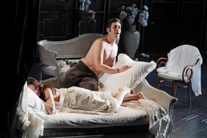 Ismael Jordi i Anita Hartig a La Traviata al Gran Teatre del Liceu Fotografia ® A Bofill