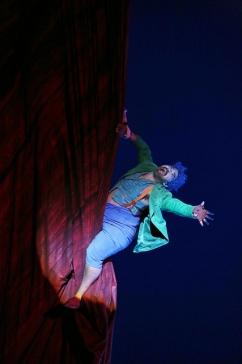 Miltos Yerolemou (Puck) a A Midsummer night's dream producció de Robert Carsen Fotografia Festival Aix-en-Provence 2015