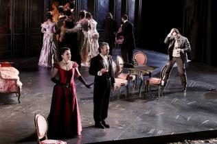 La Traviata acte 3er. Gran Teatre del Liceu, fotografia ® A Bofill