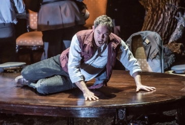 Gerald Finley a Guillaume Tell ROH. Foto Clive Barda