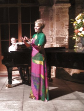 Joyce DiDonato i Mark Hastings piano 02/07/2015