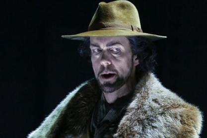 Georg Zeppenfeld (Marke) a Tristan und Isolde Bayreuth 2015 Foto: Enrico Nawrath/Bayreuther Festspiele