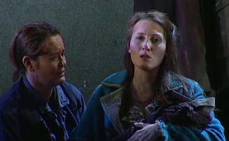Catherine Carby (Aurelio) i Paula Sides /Eleonora) a L'assedio di Calais