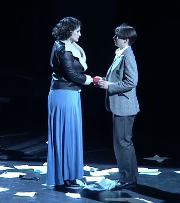 Harteros (Arabella) i Hanna-Elisabeth Müller (zdenka)