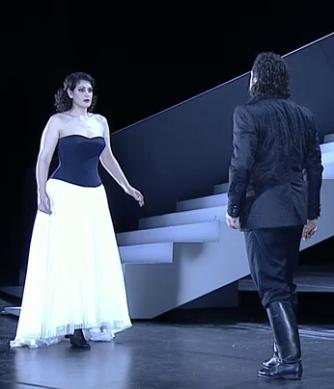 Anja Harteros (Arabella) i Thomas J. Mayer (Mandryka)