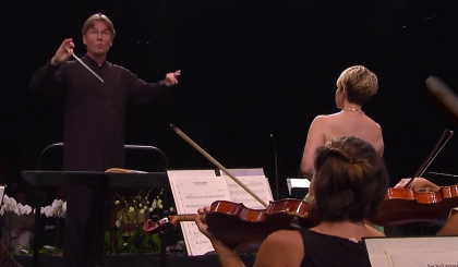 Esa-Pekka Salonen i Joyce DiDonato a Verbier 2015