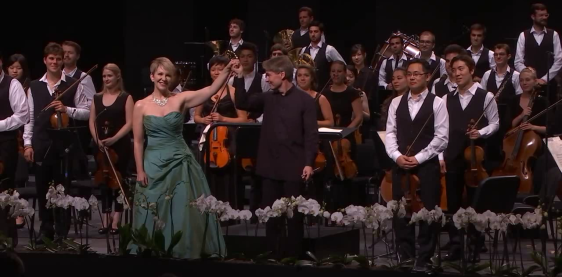 Joyce DiDonato i Esa-Pekka Salonen i l0Orquestra del Festival de Verbier 2015
