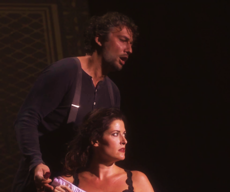 Jonas Kaufmann (Son José) i Kate Aldrich (Carmen) a Orange 2015