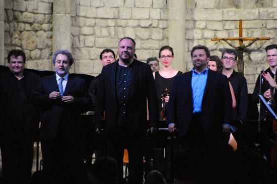 El Cant de la Terra a Vilabertran, fotografia de la pàgina de Facebook de la Scubertiada