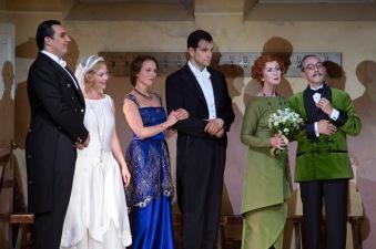 LE NOZZE DI FIGARO 2015 • ADAM PLACHETKA (FIGARO), MARTINA JANKOVÁ (SUSANNA), LUCA PISARONI (IL CONTE ALMAVIVA), ANN MURRAY (MARCELLINA), CARLOS CHAUSSON (DON BARTOLO) © Salzburger Festspiele / Ruth Walz