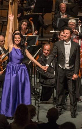 Jules Massenet • Werther 15.08Piotr Beczala, WertherAngela Gheorghiu, Charlotte © Salzburger Festspiele / Marco Borrelli