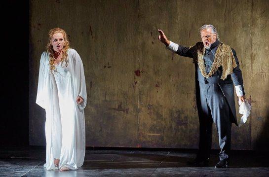 Eva Maria Westbroek (Desdemona) i Gregory Kunde (Otello) a Peralada. Fotografia Facebook Festival castell de Peralada