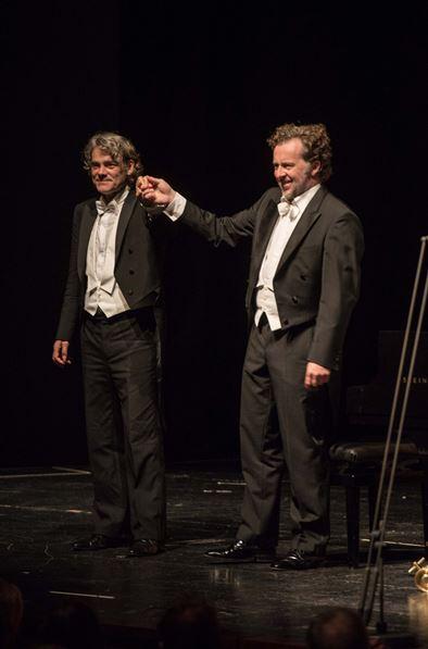 Liederabend 27.07.15 Christian Gerhaher, Baríton Gerold Huber, piano Fotografia © Salzburger Festspiele / Marco Borrelli