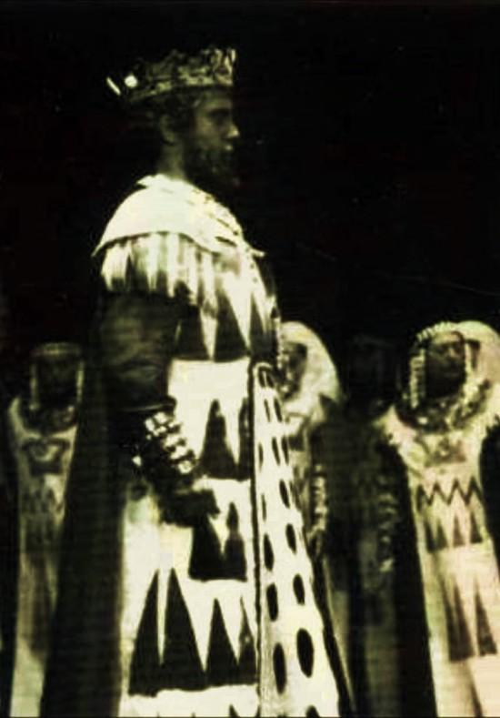 Ettore Bastianini com a Nabucco a Firenze (1957)