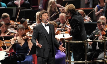 Jonas Kaufmann a la Last Night dels PROMS 2015 Photograph: BBC/Chris Christodoulou