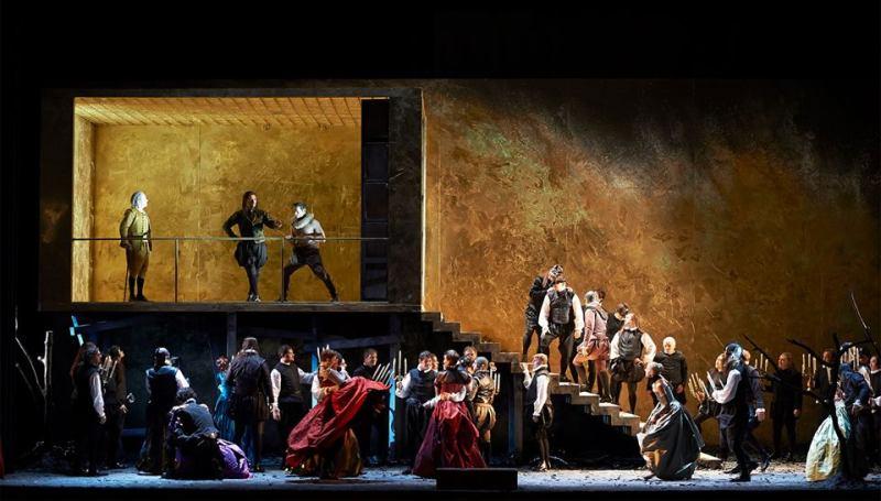 Rigoletto a la Staatsoper de Viena Producció de Pierre AUdi Foto: (c) Michael Pöhn