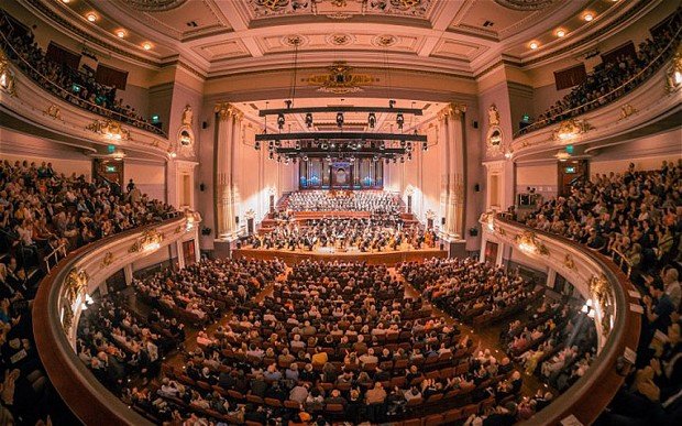 USHER HALL d'EDINBURG