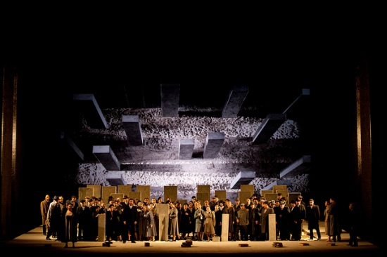 Nabucco, producció de Daniele Abbado. Fotografia © Royal Opera House / Catherine Ashmore