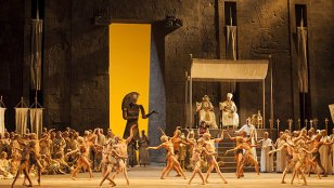 Aida al Teatro Regio de Tori, producció de William Friedkin